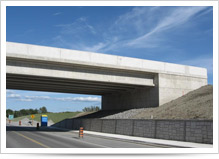 Supply and application of Anti Graffiti Coating @ 407 Overpass at Mount Albert