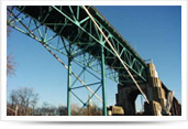 Structural repairs, blasting and re-coating of the LaSalle Causeway Bridge in Kingston, Ontario
